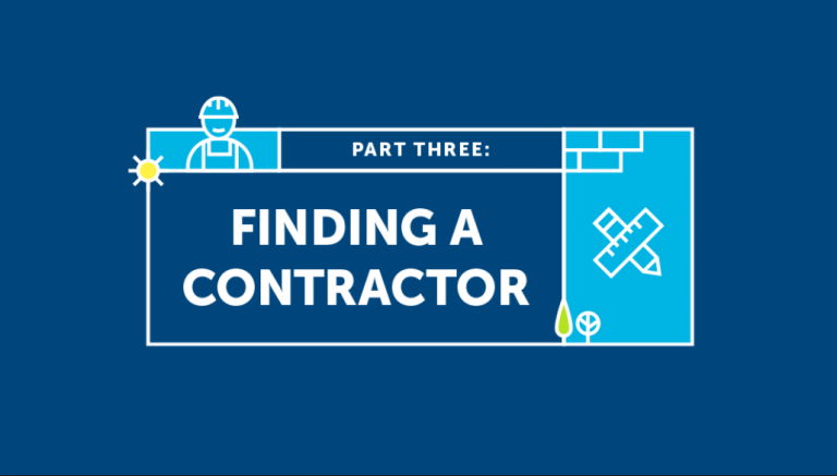 Finding A Contractor